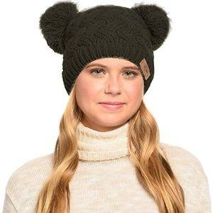 Cute Warm Thick Chunky Knit Beanie Hat